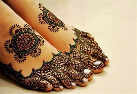 20 inspired foot mehndi designs stylish and trendy