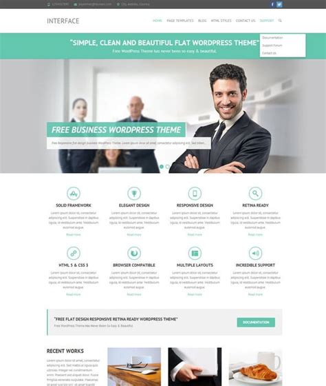 wordpress themes free good template wordpress business free temi gratis aziendali