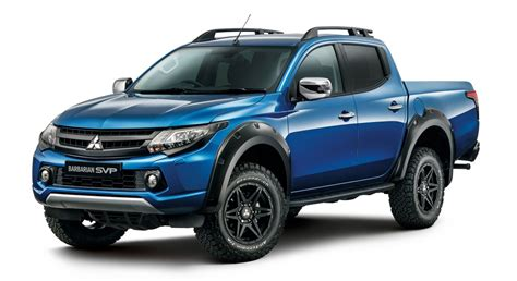 barbarian mitsubishi 2017 mitsubishi l200 barbarian svp debuts in uk loaded 4x4