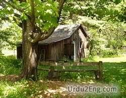 Shed Definition Verb by Shack Urdu Meaning
