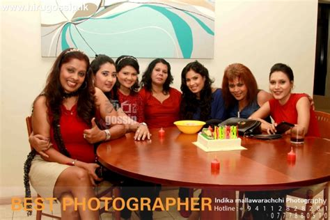 sri lankan actress birthday party photos rohani weerasinghe birthday party on sri lankan actresses