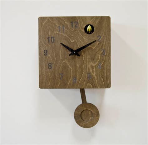 modern wall clock with pendulum 20 wall clock designs ideas design trends premium