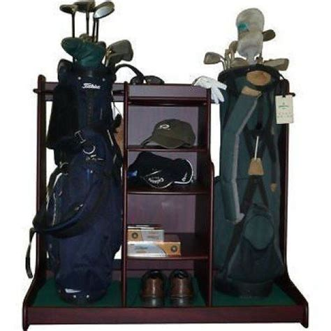 Bag Shelf Organizer by Golf Bag Club Storage Rack Shelf Organizer Holder