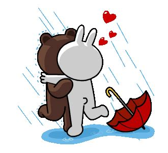 Brown Cony 03 line stickers brown cony s thrilling date free