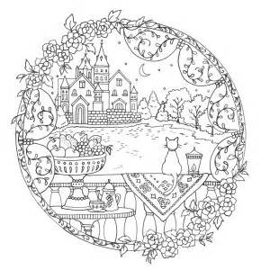 happy pub day romantic country a fantasy coloring book