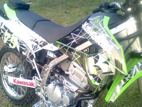 Custom Decal Klx D Tracker decals custom klx250s klx250sf dtracker kawasaki forums