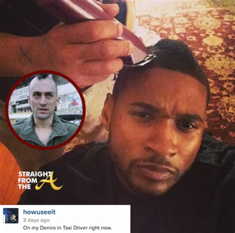 usher hairstyle 2014 new doo alert usher raymond sheds his baby fro for
