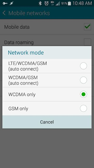 Samsung Note 4 4g Lte Phone Only how to only 4g or lte network connection for samsung