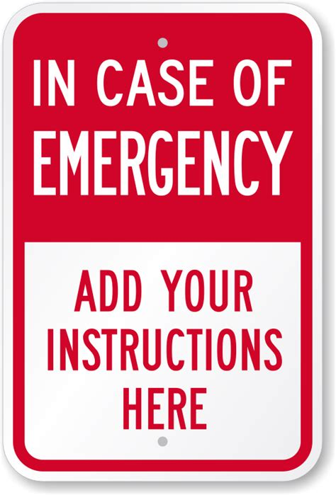 in case of an emergency template myideasbedroom com