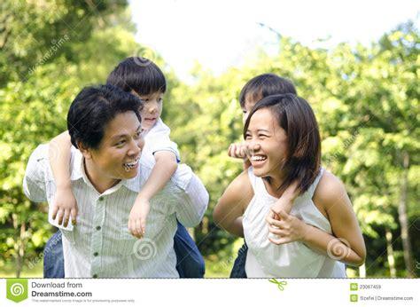 Happy Asian Family Stock Image Image Of Husband Little 23067459 Genealogy Stock Photos Royalty Free