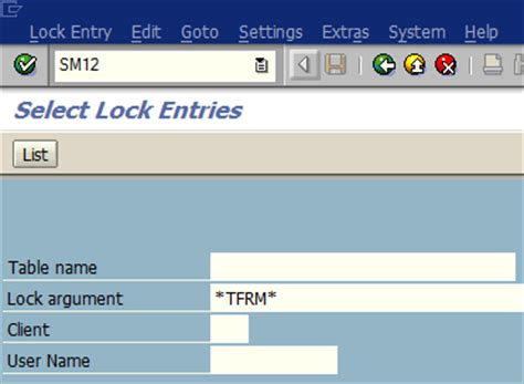 sap vofm tutorial vofm object tfrm cannot be blocked it will be displayed