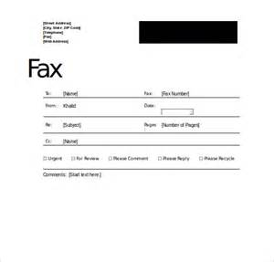 Professional Fax Cover Sheet by Professional Fax Cover Sheet 10 Free Word Pdf