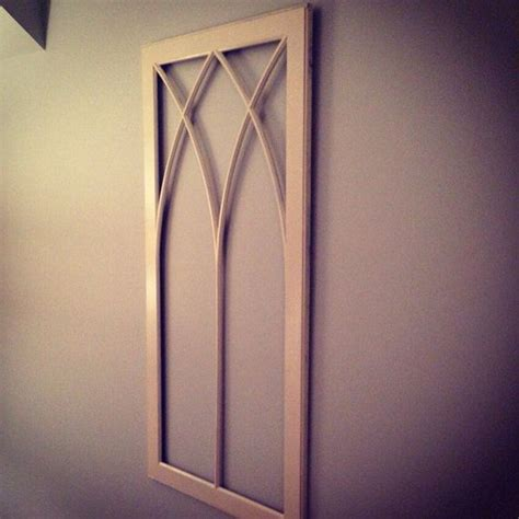 wooden window frame with curtains wooden window frame wall decor