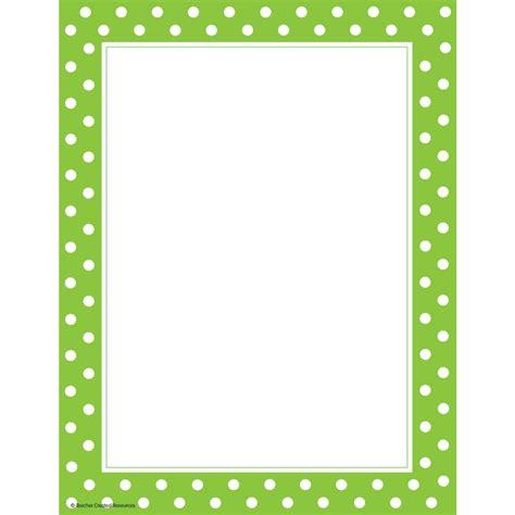 Polkadot Undangan lime polka dots computer paper tcr4765 created