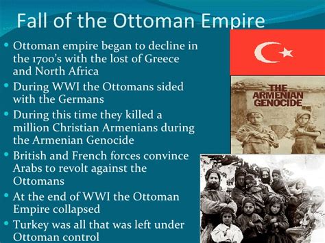 Why Did The Ottoman Empire Decline Middle East Nationalism