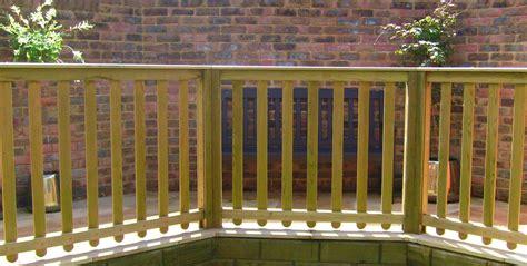 nivrem balustrade bois exterieur terrasse diverses