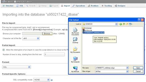 tutorial membuat database mysql xp membuat database mysql di idhostinger