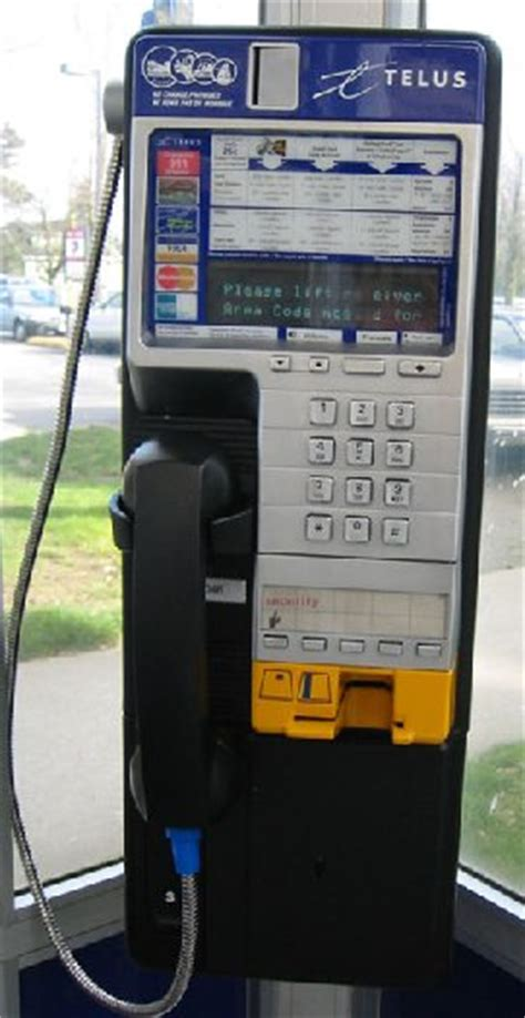 Telus Lookup Phone Number Pay Phone Pictures Page 3 Of 11 Pay Phone Directory