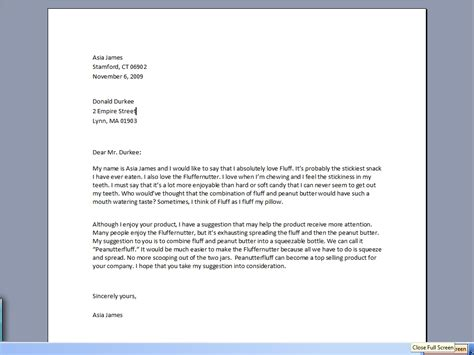how to write a business letter to a company how to