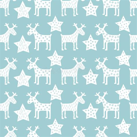 retro christmas pattern vector free seamless retro christmas pattern xmas reindeer and night