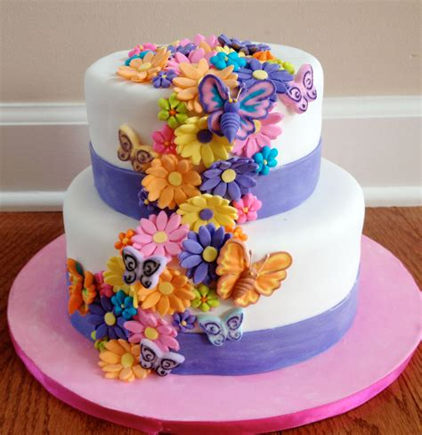 Bella Home Decor by Flower Birthday Cakes Photo Birthday Cake Cake Ideas By
