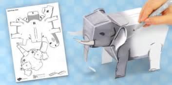 3d Paper Model