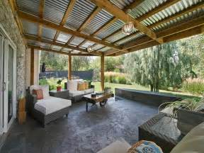 Patio Overhang Designs by Modern Terrace Design Whiting Way Interior Design