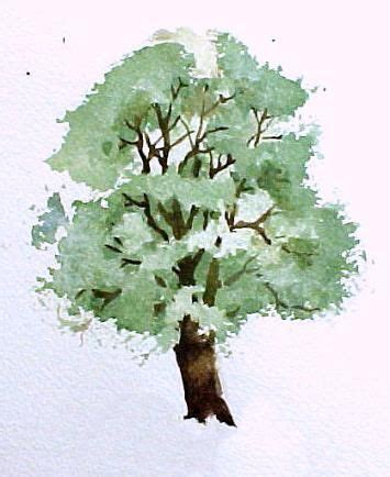 water color tree how to paint trees in watercolor susie free