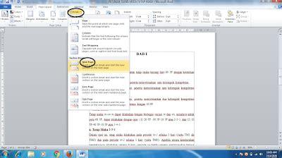 membuat halaman word berwarna seputar pendidikan cara membuat nomor halaman dengan