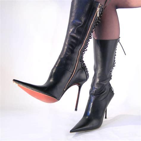 designer high heel boots leather lace up designer high heels boots hhlooks