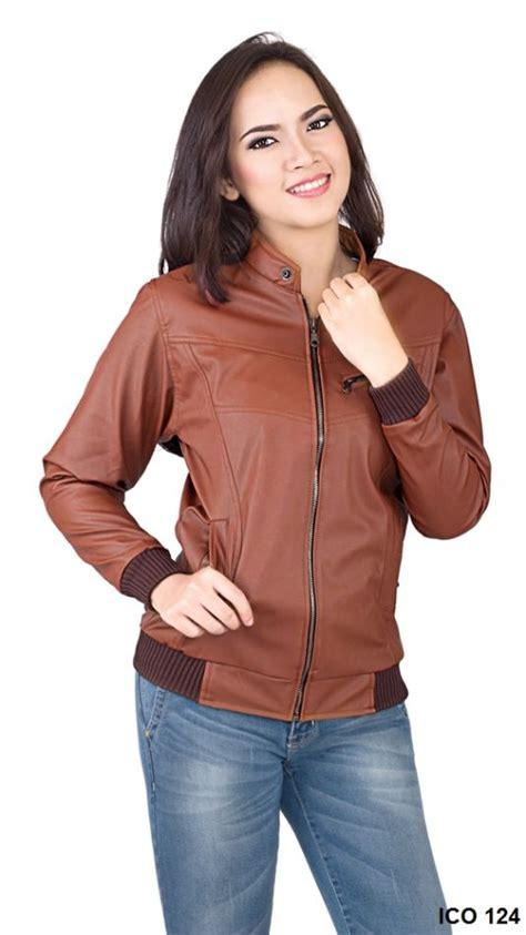 Jaket Dewasa Perempuan Taslan Brown jaket perempuan 2016 feari coklat gudang fashion wanita
