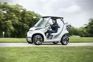 Mercedes Golf Accessories Mercedes X Garia Luxury Golf Cart Hiconsumption
