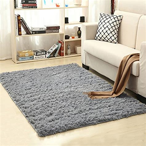 throw rugs for bedroom lochas soft indoor modern area rugs fluffy living room