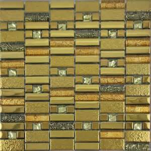 mosaic glass backsplash kitchen gold plated glass mosaic tile glass tile
