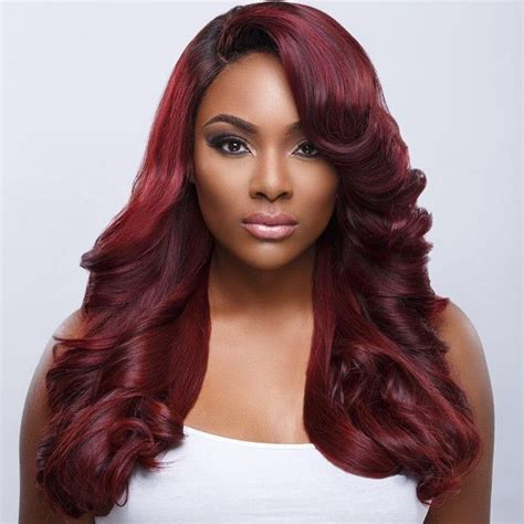 google hairstyle long black red hair on dark skin black women google search hair