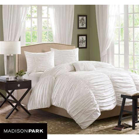 copy cat chic pottery barn hadley ruched duvet