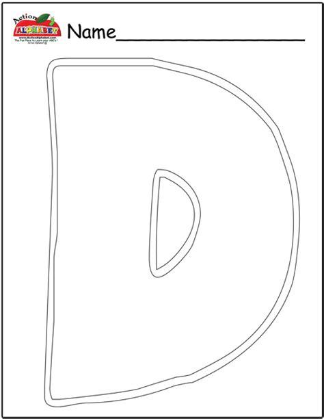 Letter D Activities For Preschool