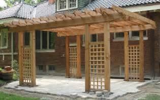 Craftsman Style Pergola by Pergola Arbors Craftsman Western Red Cedar Pergolas