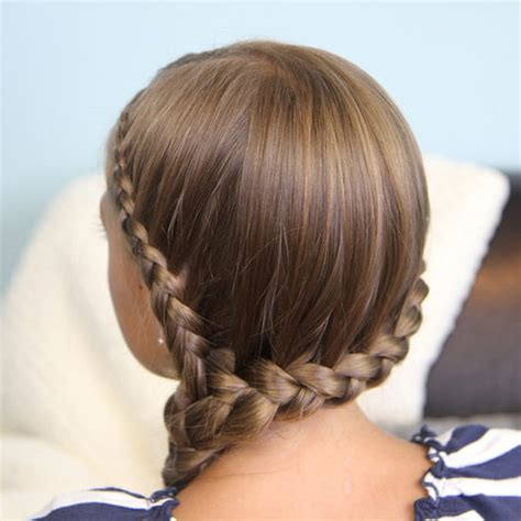 easy hairstyles for school and work how to do a side braid popsugar