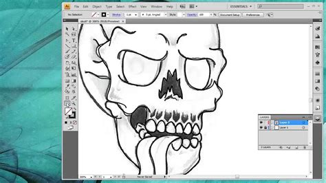 create line art illustrator tutorial how to convert a drawing into vector art inside adobe