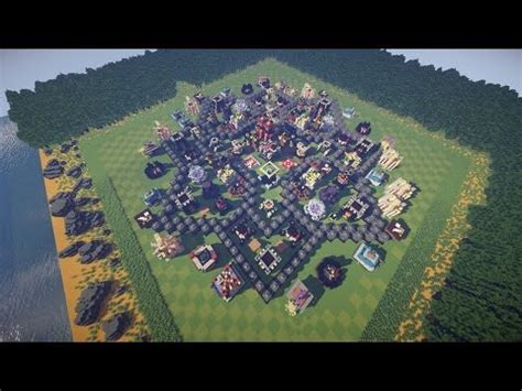 clash of clans in minecraft. (every building with every