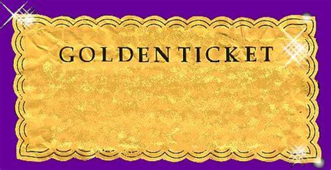 Golden Ticket Form Time Ideas Pinterest Golden Ticket Co Uk And Golden Ticket Template Golden Ticket Template
