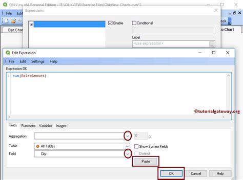 qlikview button tutorial mekko chart in qlikview