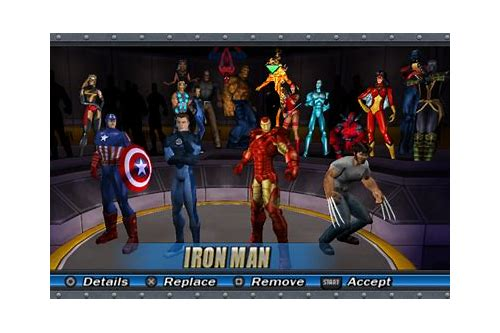 marvel ultimate alliance psp download cso