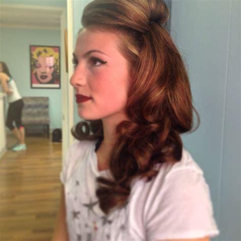 prom hair salons london pretty retro inspired prom hair mint salon decatur il