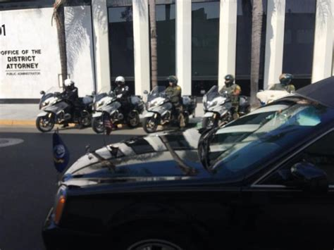 Motorcycle Attorney Orange County by Procession Leads To Riverside National Cemetery For 9