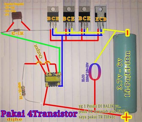 inverter mini joule thief  transistor dc