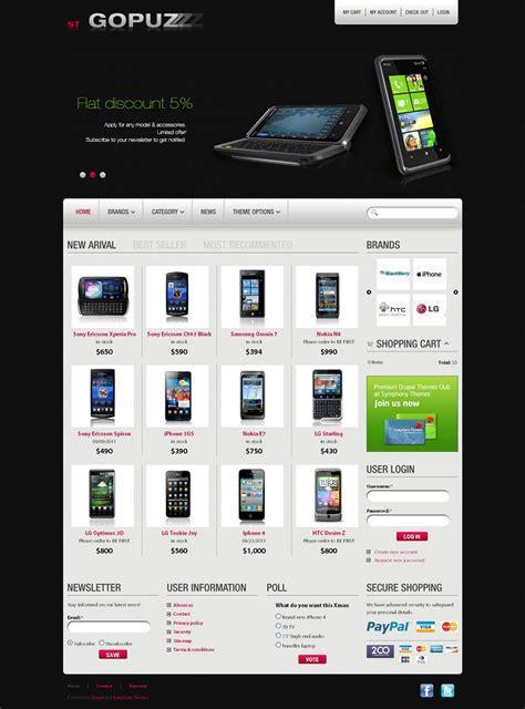 drupal themes to buy gopuz premium drupal ubercart theme
