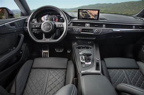Audi S5 Interior by 2018 Audi S5 Coupe Drive Review Automobile Magazine