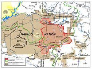 navajo nation map arizona coloradoriver navajo gallup water supply project